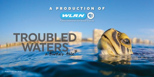 WLRN'S PREMIERE FILM SCREENING OF TROUBLED WATERS: A TURTLE'S TALE