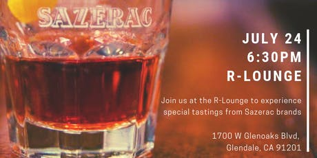 Sazerac Tasting Event at R Lounge tickets