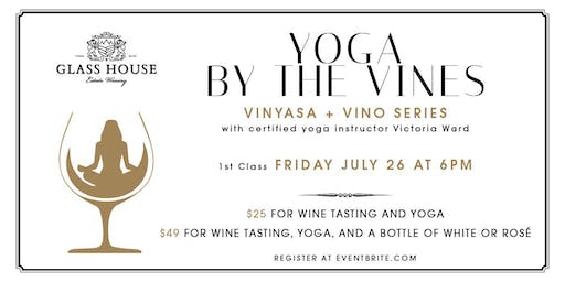 Yoga by the Vines at Glass House Estate Winery