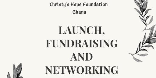 Christy's Hope Foundation Launch, Fundraising and Networking