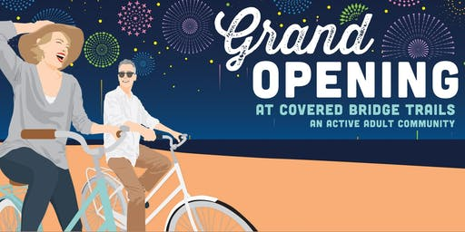Model Grand Opening: Covered Bridge Trails!