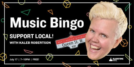 Music Bingo: Support Local Edition tickets