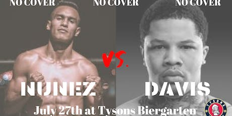 No Cover: Davis vs. Nunez  tickets