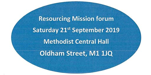 District Resourcing Mission Forum