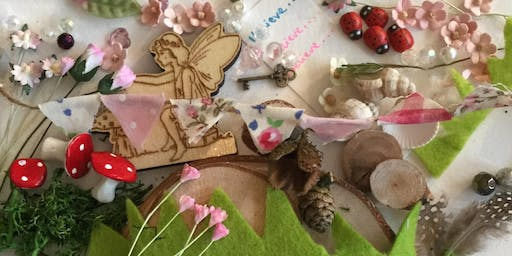 Summer Fairy Garden with Tiny Bunting  Workshop with Anneli from My Tiny Little Studio