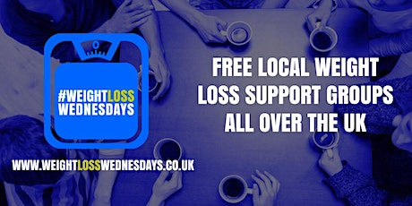 WEIGHT LOSS WEDNESDAYS! Free weekly support group in Coalville tickets