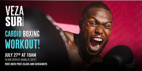 Veza Sur x Gorgeous AL - Cardio Boxing Workout tickets