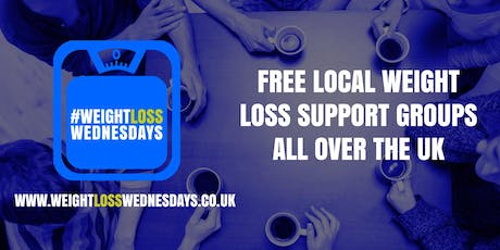 WEIGHT LOSS WEDNESDAYS! Free weekly support group in Ashby-de-la-Zouch  tickets