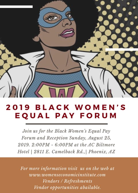 2019 Black Women's Equal Pay Forum (Phoenix)
