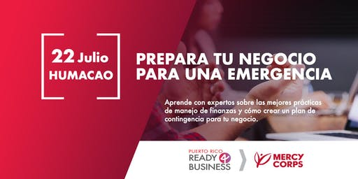 Prepara tu negocio para una emergencia