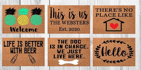 Welcome Mat Painting 8/25 tickets