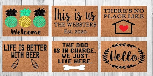 Welcome Mat Painting 8/25