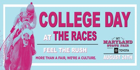 2019 College Day at The Races tickets