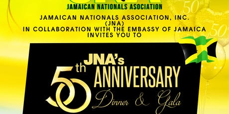 Jamaican Nationals Association Celebrates 50th Anniversary Dinner & Gala tickets