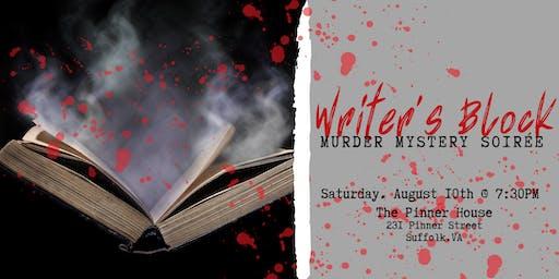 Writer's Block Murder Mystery Soirée