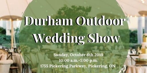Durham Outdoor Wedding Show