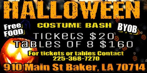 Going LIVE Ent: 1st Annual Halloween Costume BASH