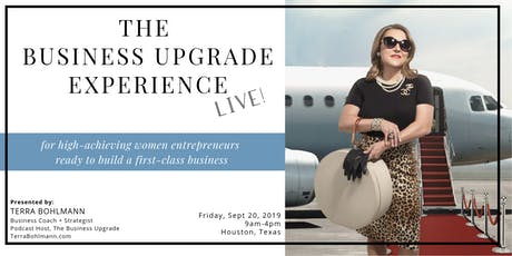 The Business Upgrade Experience with Terra Bohlmann tickets