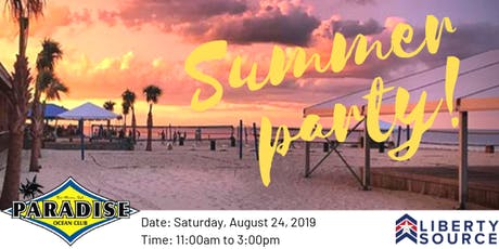 Liberty Source Employees Only -  Annual Summer Party! tickets
