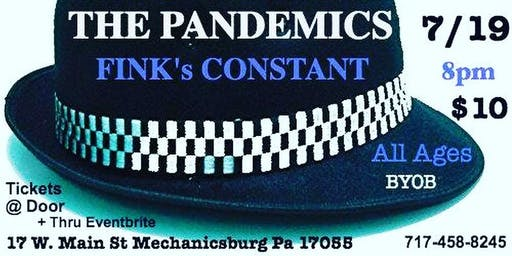 SKA NIGHT w/ THE PANDEMICS & FINK'S CONSTANT