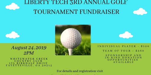 Liberty Tech Charter School 3rd Annual Golf Fundraiser