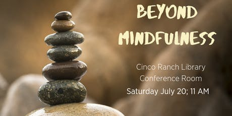 Beyond Mindfulness tickets