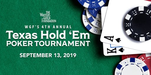 WGF's 4th Annual Texas Hold 'Em Charity Poker Tournament