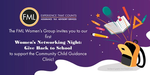 Women's Networking Night: Give Back to School