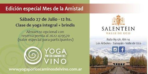 Yoga por los Caminos del Vino - BODEGA SALENTEIN