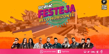 Festeja BH- Top Folia Eventos e Turismo RJ ingressos