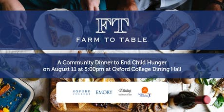 Farm to Table tickets