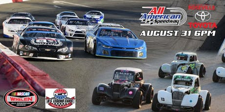 NASCAR Whelen All American Series and US Legends tickets