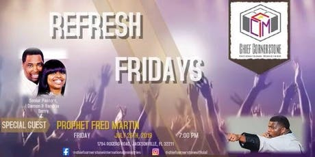 Refresh Fridays tickets
