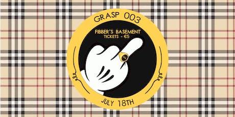 GRASP 003 tickets