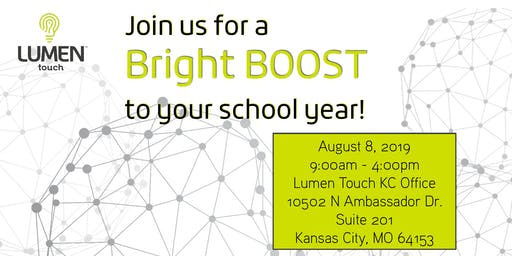 Lumen Touch Bright BOOST Development Day KC