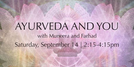 Ayurveda and You tickets