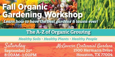 Fall Organic Gardening Workshop