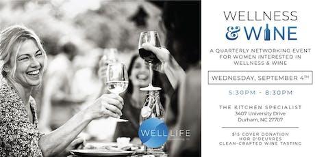 Wellness & Wine Women's Networking Event Series 2019 tickets