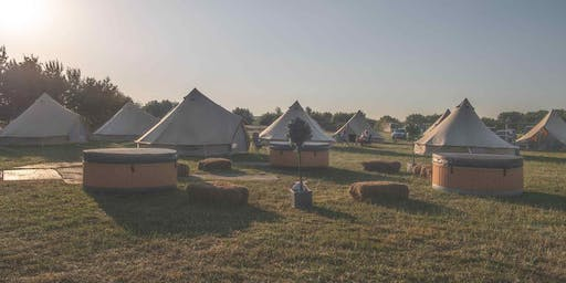 Luxury Glamping and Accommodation at the Derbyshire Sausage and Cider Festival 2020