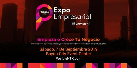 POSiBLE HTX Expo Empresarial 2019 tickets