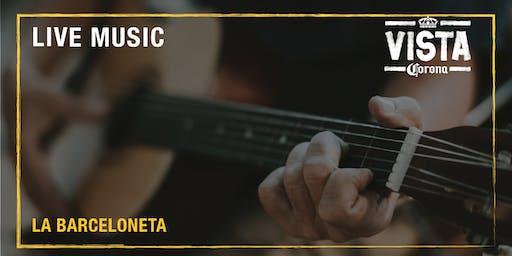LIVE MUSIC & SUNSET - Vista Corona La Barceloneta