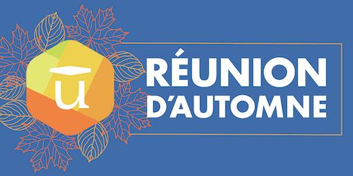 RÉUNION D'AUTOMNE 2019 - Force de vente
