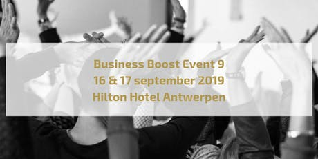 Business Boost Event 9 tickets