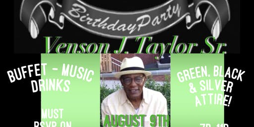 65th Birthday Celebration for Venson Taylor Sr.