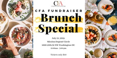 CFA Summer Brunch Fundraiser