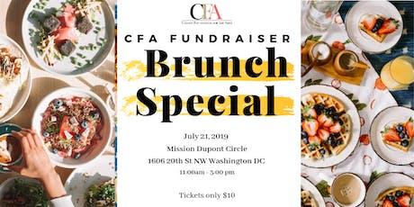 CFA Summer Brunch Fundraiser tickets