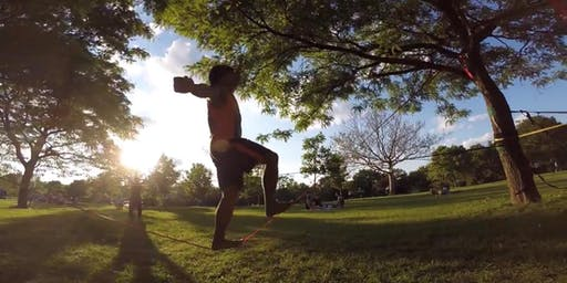 Slacklining Intro and demonstrations - FREE!