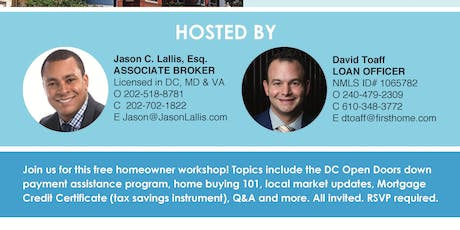 Homebuyer Q&A ft. Local Top Producers (U St. Corridor Area) tickets