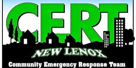 New Lenox CERT Disaster Exercise tickets