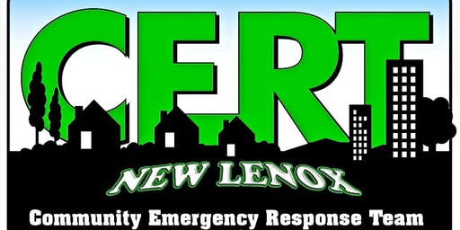 New Lenox CERT Disaster Exercise